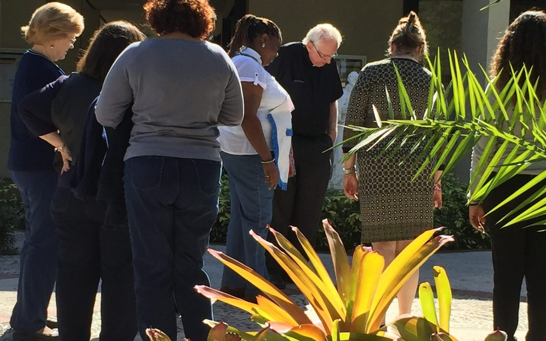On the Grounds with Father David Smith