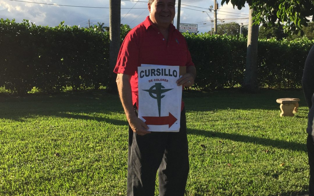 This way to the Cursillo….