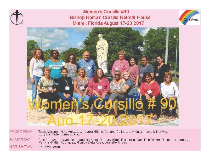 Women's Cursillo #90